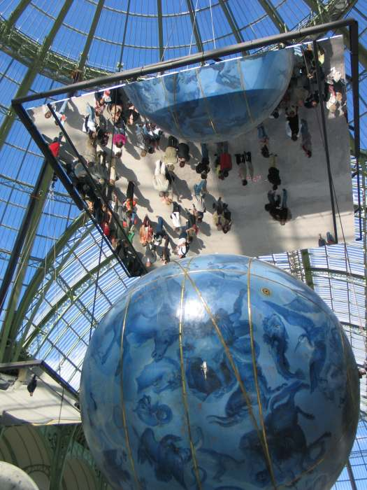 miroir tendu mirolege au grand palais