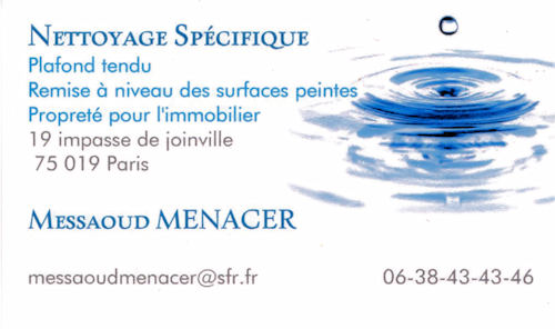 Mr Messaoud Menacer