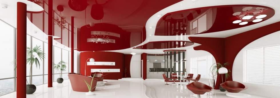 installation plafond tendu decoratif pose faux plafond. Black Bedroom Furniture Sets. Home Design Ideas